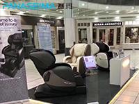赛玛按摩椅进驻国外大型商场:坐落大型购物中心开设体验店