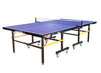 双鱼乒乓球台 (带脚轮可折叠)